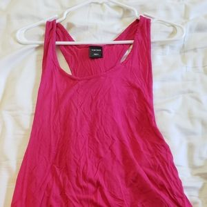 Muscle High Low Tank